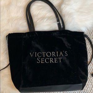Victoria's Secret handle velvet jeweled bag NWOT